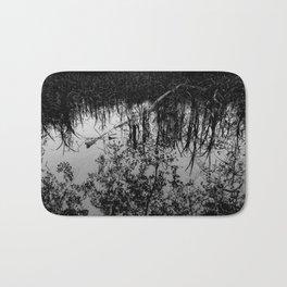 Monochrome Marshland Bath Mat