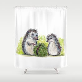 Chestnut Shower Curtain