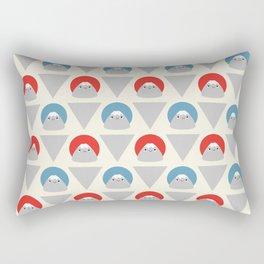 Mt Fuji Dots Rectangular Pillow