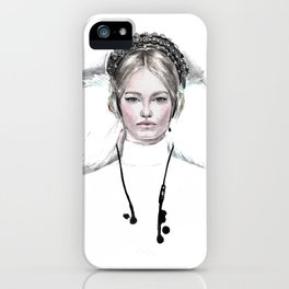Modern Queen iPhone Case