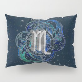 Scorpio Zodiac Sign Water element Pillow Sham