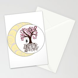 Swirls and a Swing Stationery Cards