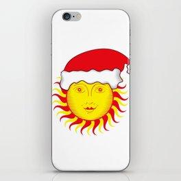 Sun: Merry Christmas iPhone Skin