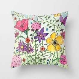 Candy Shoppe Throw Pillow
