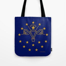 Indiana: The Crossroads of Abortion Access Tote Bag