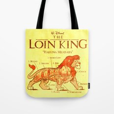 THE LOIN KING Tote Bag