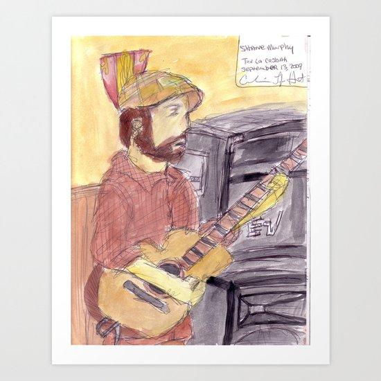 Shane Murphy - September 12, 2009 Art Print