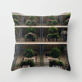 Iron & Ferns Throw Pillow