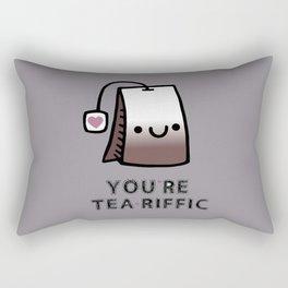 You're Tea-Riffic Rectangular Pillow
