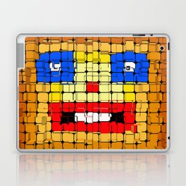 Pixelgesicht. Laptop & iPad Skin