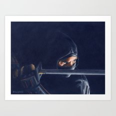 From The Shadows Art Print