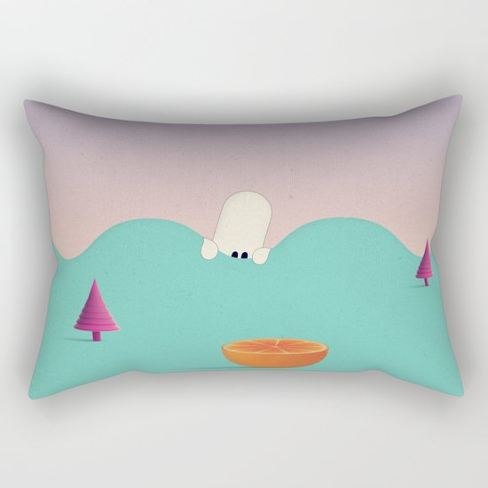 H i d e Rectangular Pillow