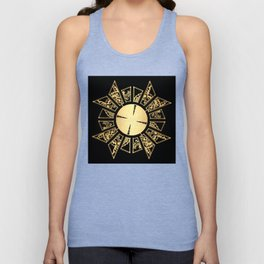Lament Configuration Opened - Natural Unisex Tank Top