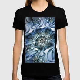 Dynamic Spiral, Abstract Fractal Art T-shirt