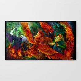 The Only One He Ever Feared Canvas Print