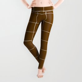 Minimal_LINES_EARTH Leggings