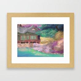 Korean fairy tale Framed Art Print