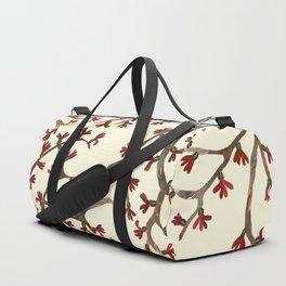 Yellow Shrub Duffle Bag