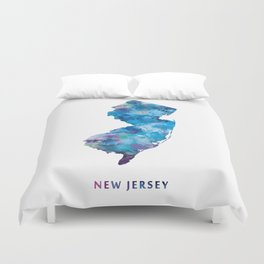New Jersey Duvet Cover