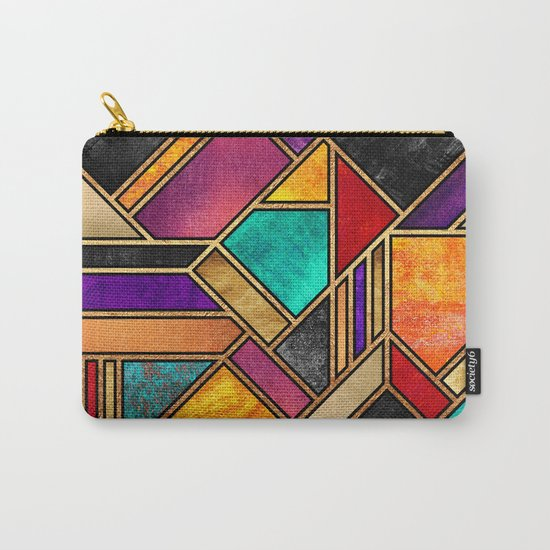 Colorful City Night Carry-All Pouch