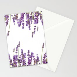 Purple Lavender #2 #decor #art #society6 Stationery Cards