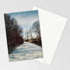 Winter Path Stationery Cards