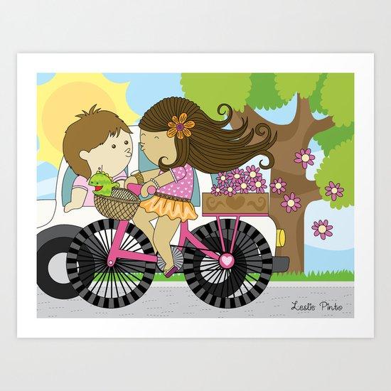 Good Bye Love... Art Print