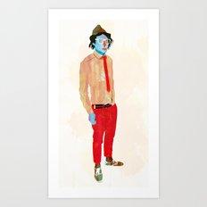 Hat Art Print