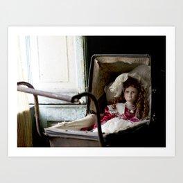 Miss Edith Art Print