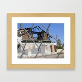 Burned - 3  Framed Art Print