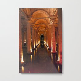 Pillars Of Light! Metal Print