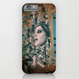 Beirut Fairuz Mar Mikhael Street Art iPhone Case