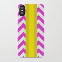 Olivia Summer Chevron iPhone Case