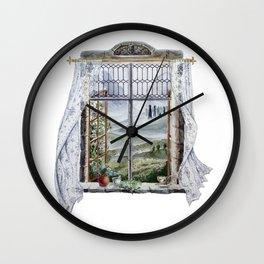 Outlander Window Wall Clock