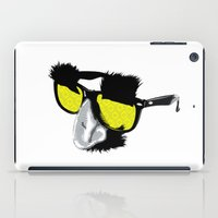 marx iPad Cases featuring Groucho Marx by Michelle Eatough