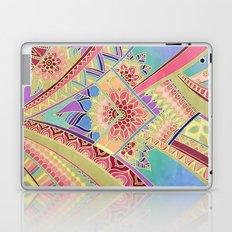 Rise and Shine - Rainbow Hued, Multi-Colored Doodle Laptop & iPad Skin