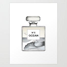 Ocean No5 Art Print