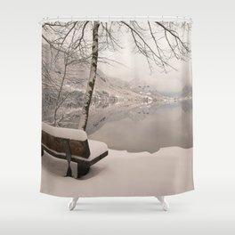 Lake Bohinj Shower Curtain
