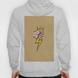 Remixed Lichtenstein's lightning bolt. Hoody