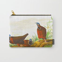 Blue-headed Pigeon Carry-All Pouch