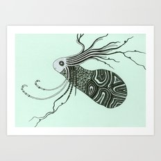 the spirit of the forest Art Print