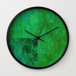 Mr. Kryptonite - Abstract Wall Clock