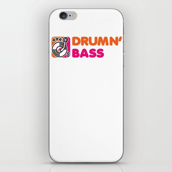 Drumn' Bass  iPhone & iPod Skin
