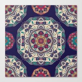 Colorful Mandala Pattern 007 Canvas Print