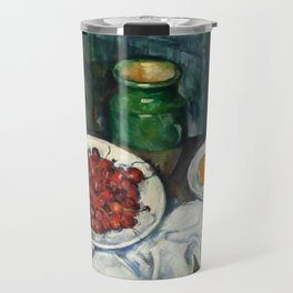 "Paul Cezanne ""Still Life with Cherries and Peaches"" Travel Mug"