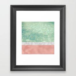 Dip II Framed Art Print