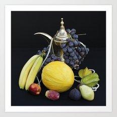 FRESH FRUITS - Stillife Art Print