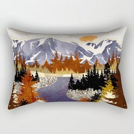 Autumn River Rectangular Pillow