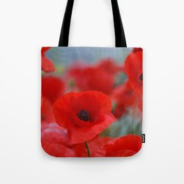 poppy addiction Tote Bag