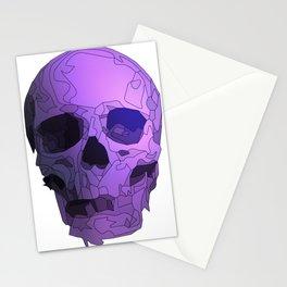 Skull - Violet Stationery Cards
